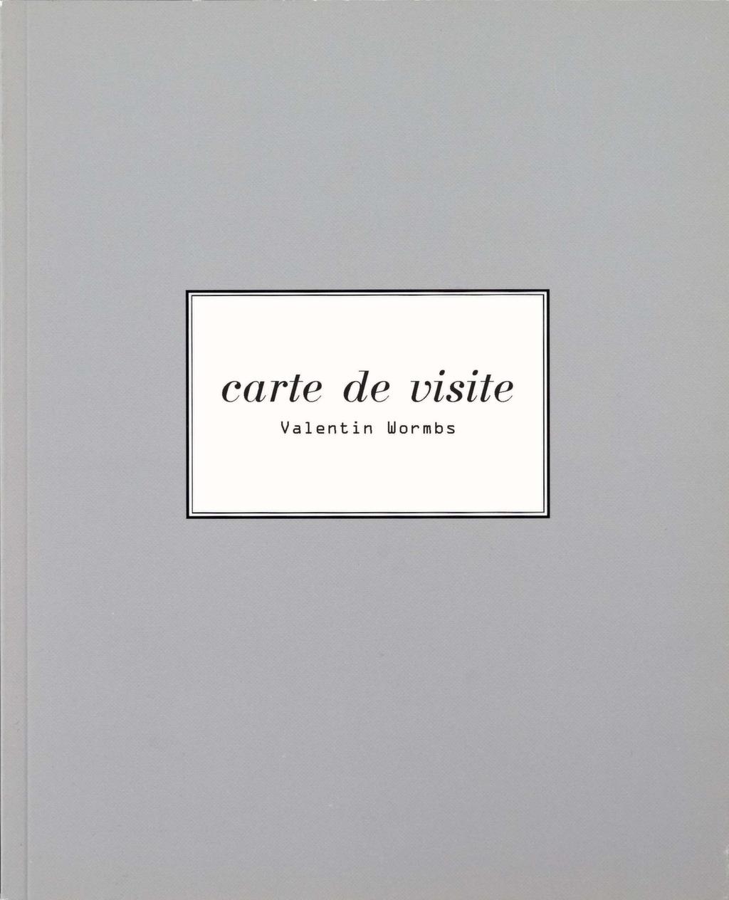 Carte De Visite 1996
